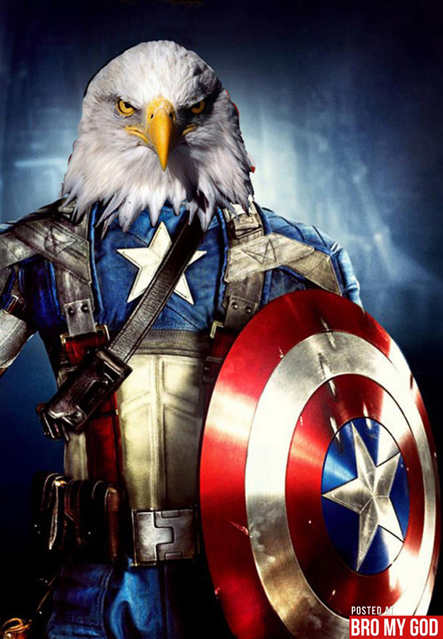 It American Teen Is: Captain America Eagle