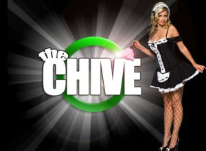 theChive Blonde Maid