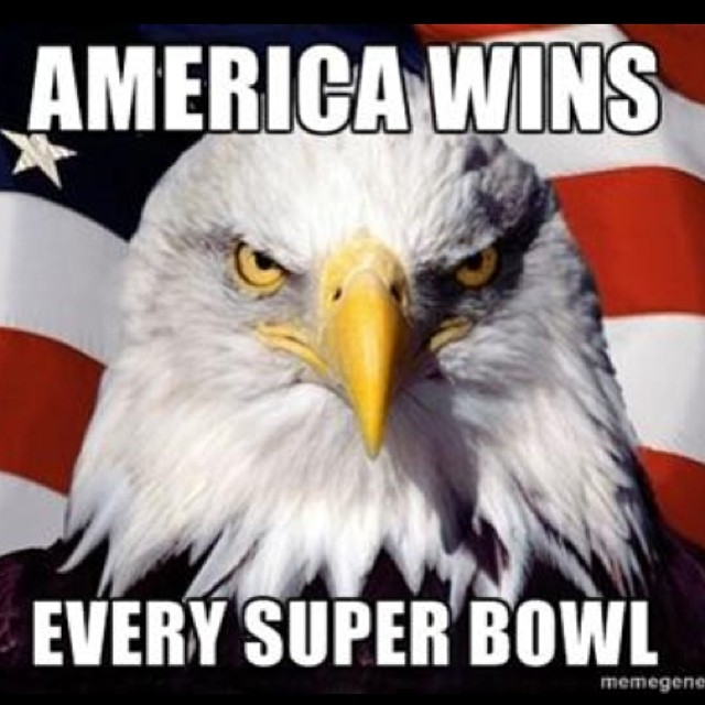 AMERICA – WINS EVERY SUPER BOWL | Now That\'s Merican