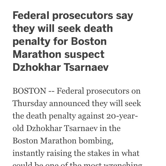 Boston Bombing Suspect Thought To Be Dzhokhar A Tsarnaev: Now That's Merican