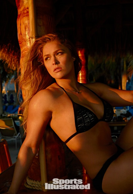 Ronda Rousey - Merican Babe of the Day - UFC 184 - Sports Illustrated